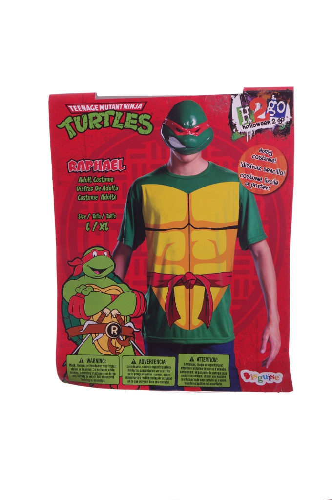 NinjaTurtles.jpg  sc 1 st  Extreme Discount Sellers & Disguise Adult Mens Teenage Mutant Ninja Turtles Raphael Costume ...