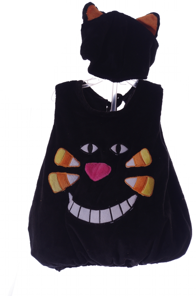 BlackCat.jpg  sc 1 st  Extreme Discount Sellers & Baby Infant Black Cat Kitty Kitten Halloween Costume Hat with Ears ...